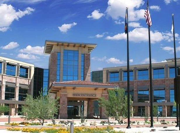 No. 48 (tie): Steward Health Care | Hospitals, other medical centers| 2019 employees: 3,600e (estimated by Arizona Republic) | 2018 employees: 3,586 | Ownership: Private | Headquarters: Dallas | www.steward.org