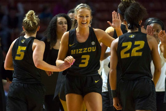 Missouri women's basketball career scoring leader Sophie Cunningham is a Phoenix Mercury second-round draft pick and draws comparison in style of play with Mercury star Diana Taurasi.