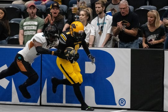 The Sugar Skulls hosted the Rattlers on Sunday at Tucson Arena for the first time.