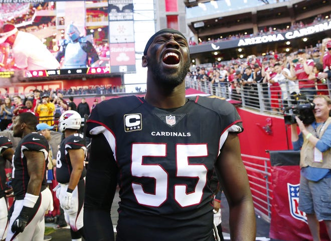 Chandler Jones  led the Cardinals with 13 sacks last season. This year, he'll have some more help in pressuring the quarterback.