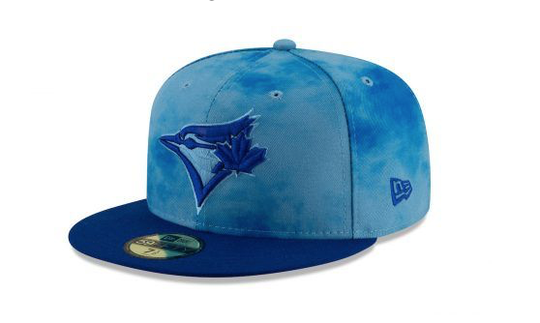 The Toronto Blue Jays revealed their special-event caps last week.