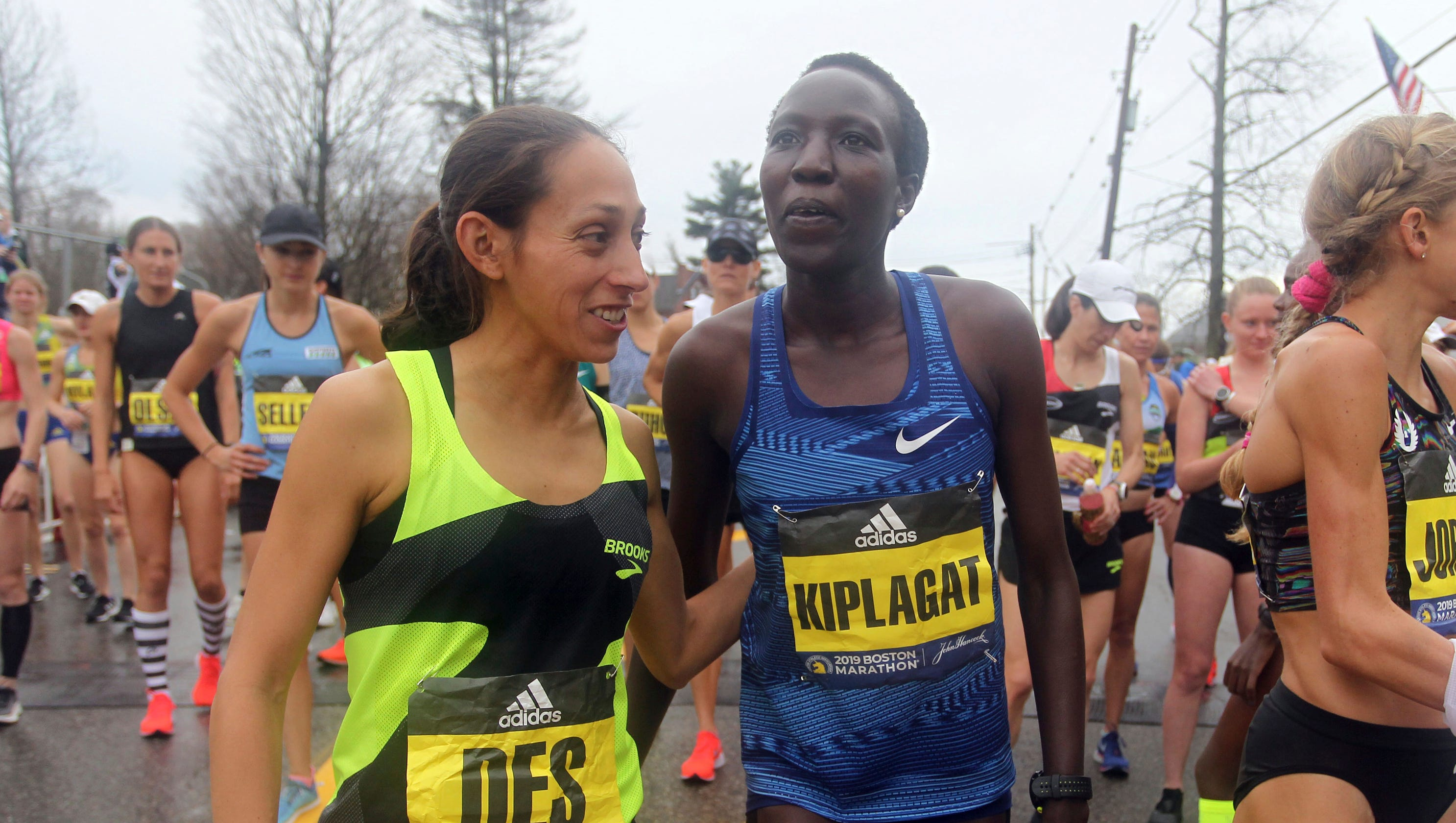 c72f6bf36b3 Boston Marathon  Defending champion Desiree Linden finishes fifth