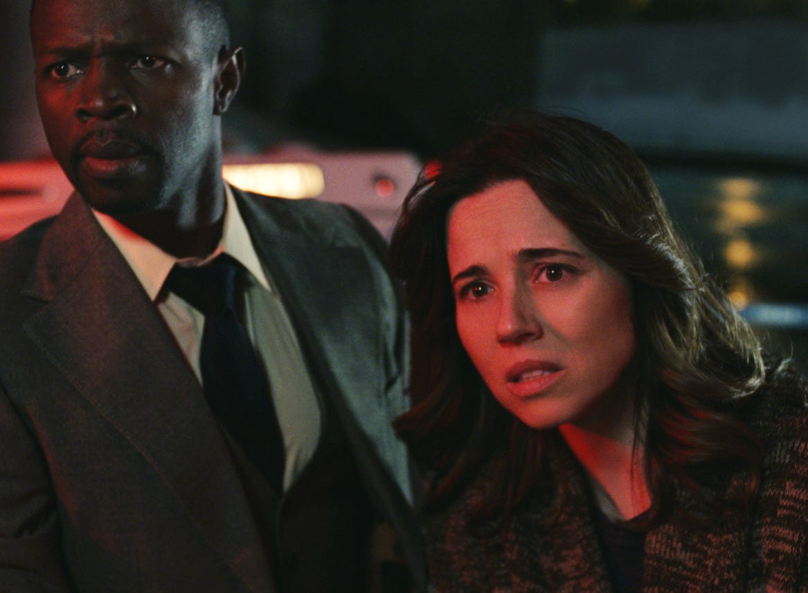 "Sean Patrick Thomas and Linda Cardellini star in ""The Curse of La Llorona."""