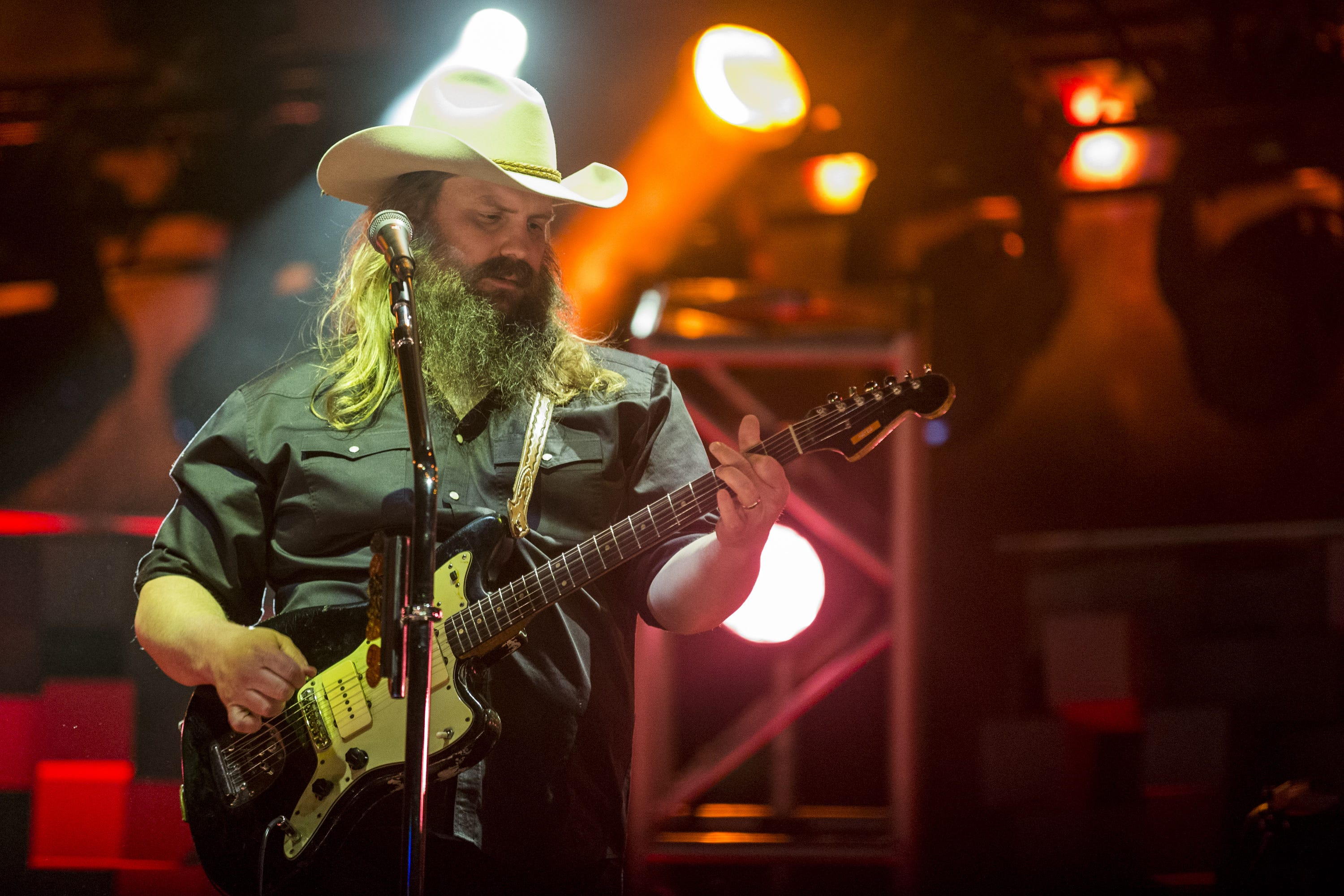 Chris Stapleton, Marty Stuart bring Country Thunder to a triumphant finale