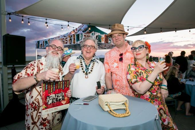 Joy was all around during Arizona Tiki Oasis at Hotel Valley Ho in Scottsdale on April 12, 2019.