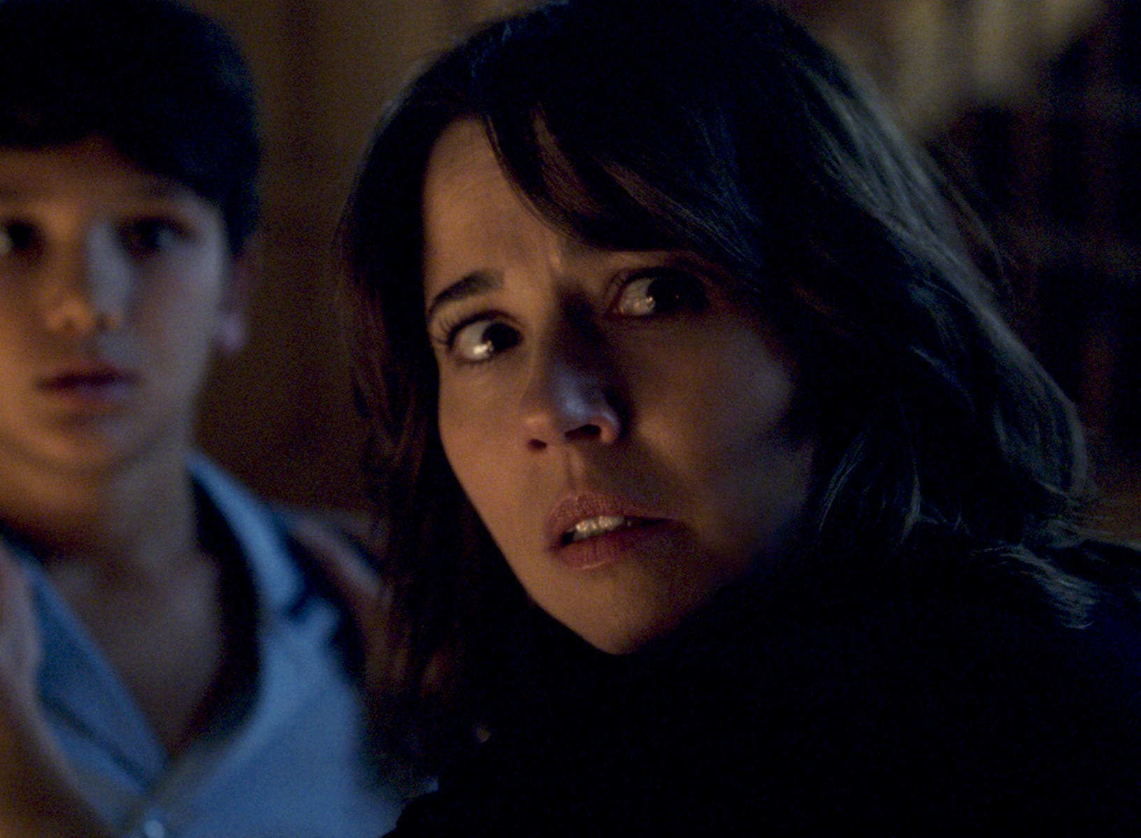 "Roman Christou and Linda Cardellini star in ""The Curse of La Llorona."""