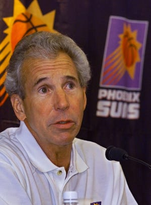 John MacLeod served as the Suns' coach for 14 years, beginning in 1973.