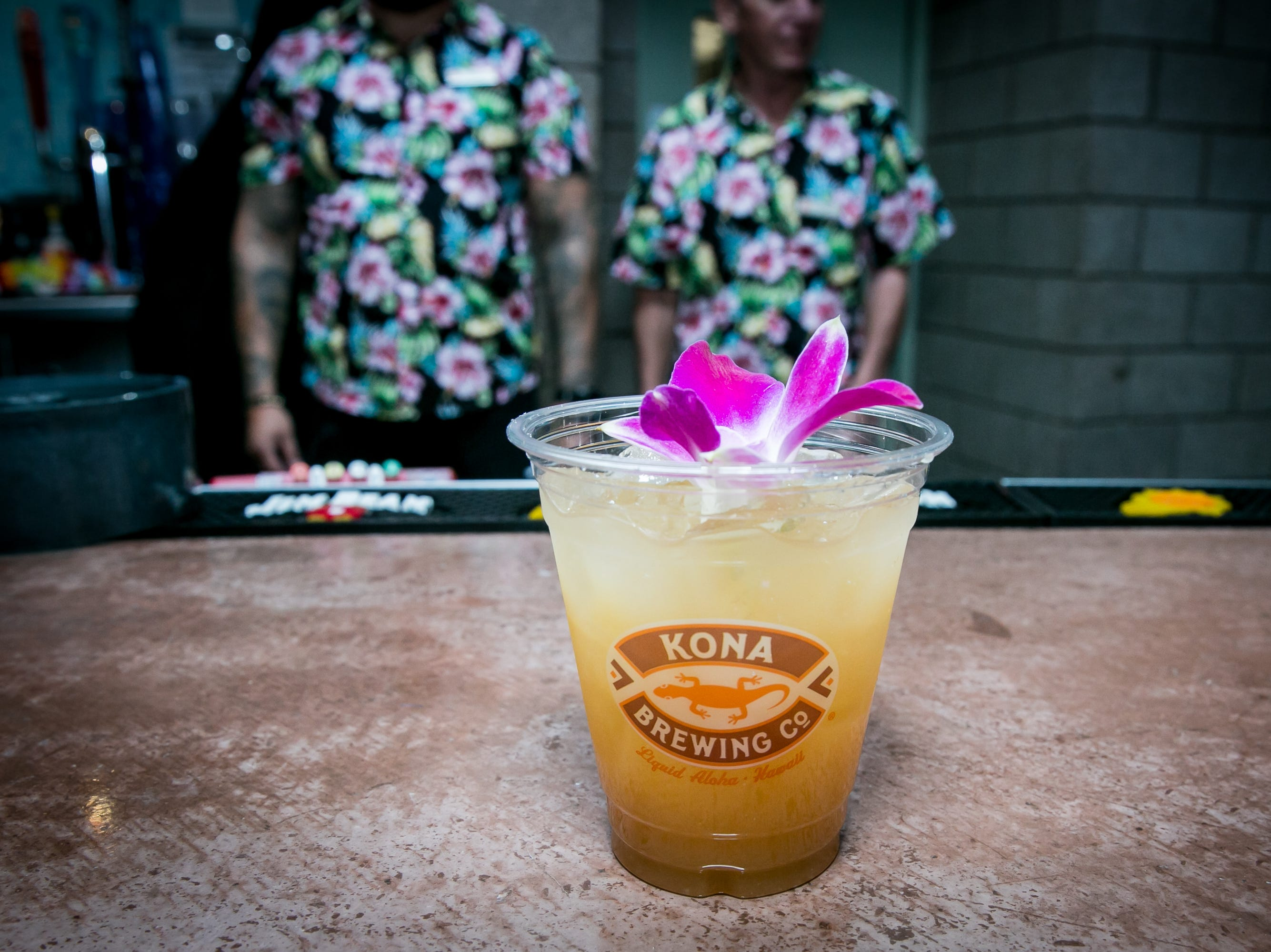 The Floridita cocktail had The Real McCoy 3 Year Aged Rum, Maraschino Liquer, Pamplemousse, and Swet and Sour during Arizona Tiki Oasis at Hotel Valley Ho in Scottsdale on April 12, 2019.