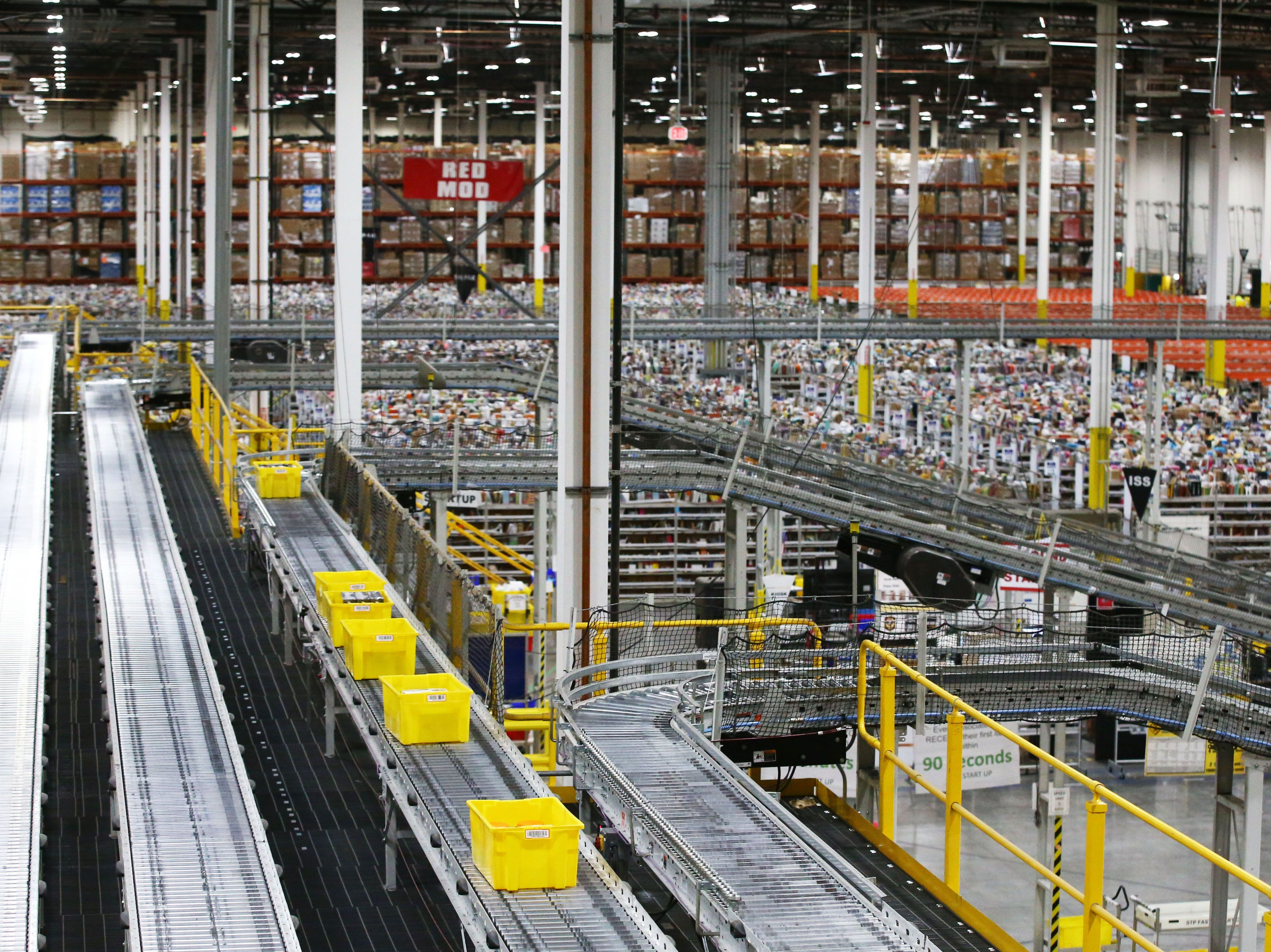 No. 19: Amazon.com Inc. | Online retailing, delivery | 2019 employees: 8,500 | 2018 employees: 7,000 | Ownership: Public | Headquarters: Seattle | www.amazon.com
