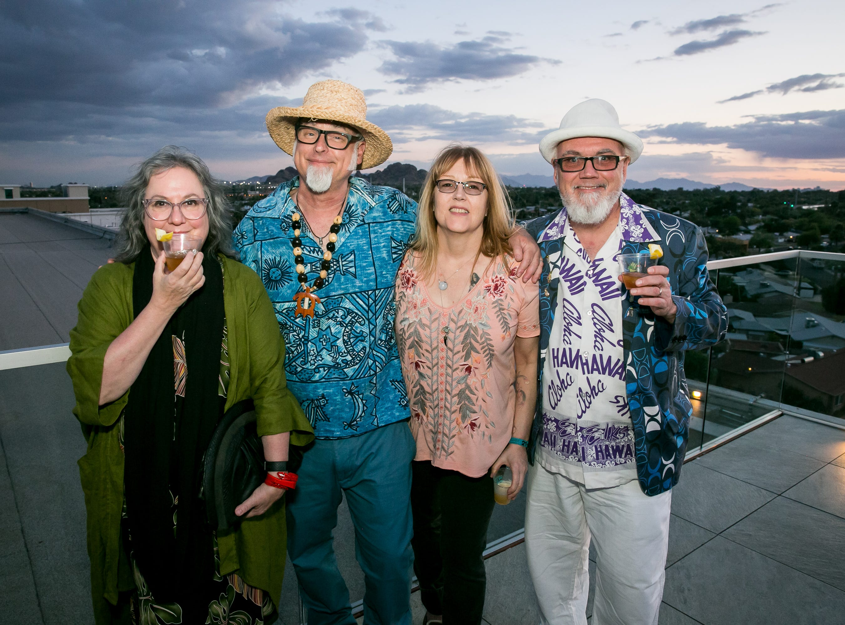 Great times were had during Arizona Tiki Oasis at Hotel Valley Ho in Scottsdale on  April 12, 2019.