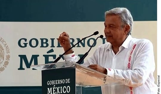 AMLO dice que gobierno de Trump quiere invertir en Tren Maya.