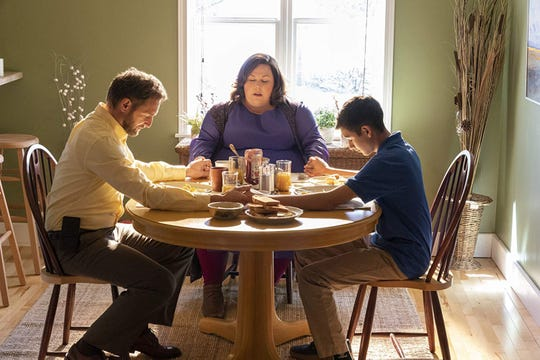 """Josh Lucas (left), Chrissy Metz, and Marcel Ruiz star in """"Breakthrough."""" The movie opens Wednesday, April 17, at Regal West Manchester Stadium 13, Frank Theatres Queensgate Stadium 13 and R/C Hanover Movies."""