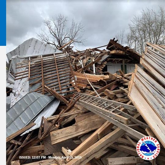 Updated: 4 tornadoes confirmed in Pa from Sunday night's storms