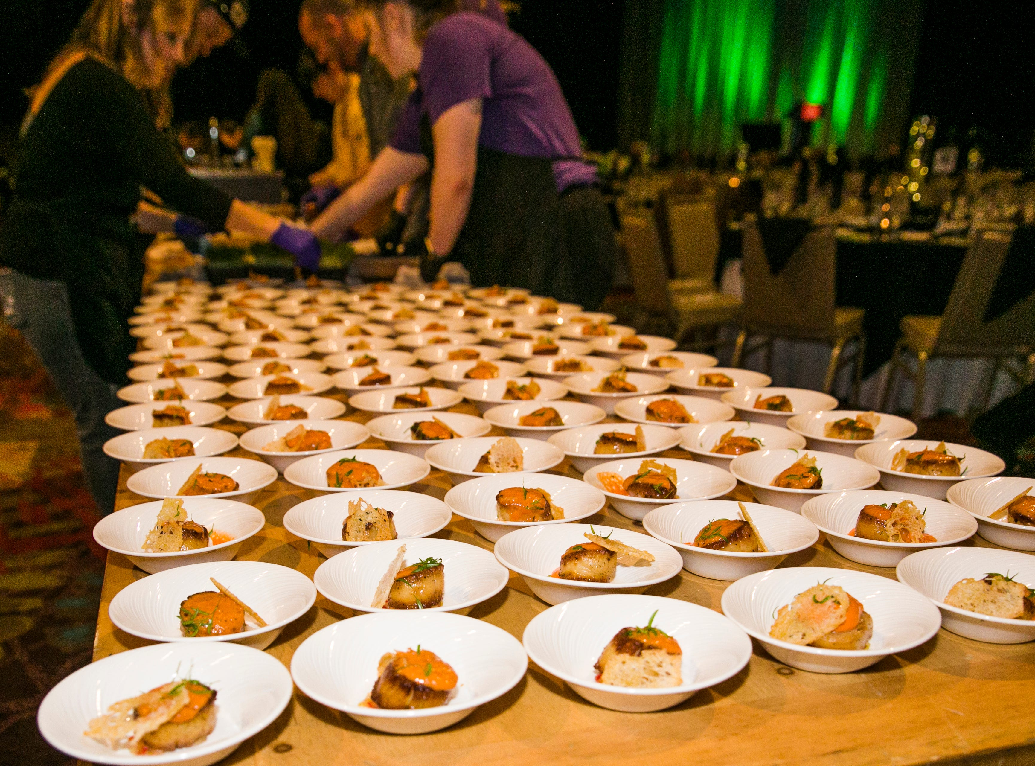 A photograph taken during Big Chefs Big Gala at the Grand Sierra Resort in Reno, Nevada on Saturday, April 13, 2019.