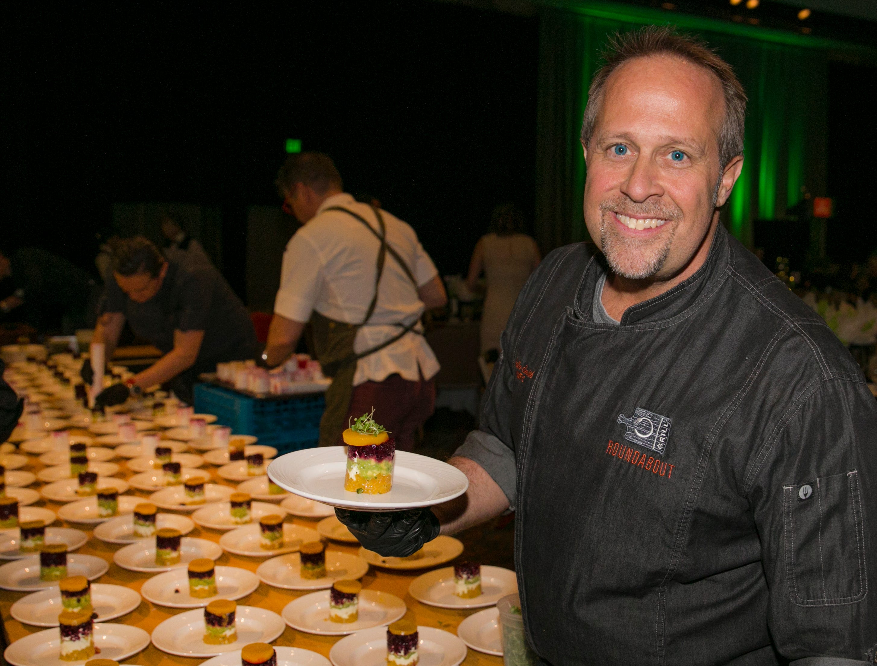 Chef Colin Smith during Big Chefs Big Gala at the Grand Sierra Resort in Reno, Nevada on Saturday, April 13, 2019.