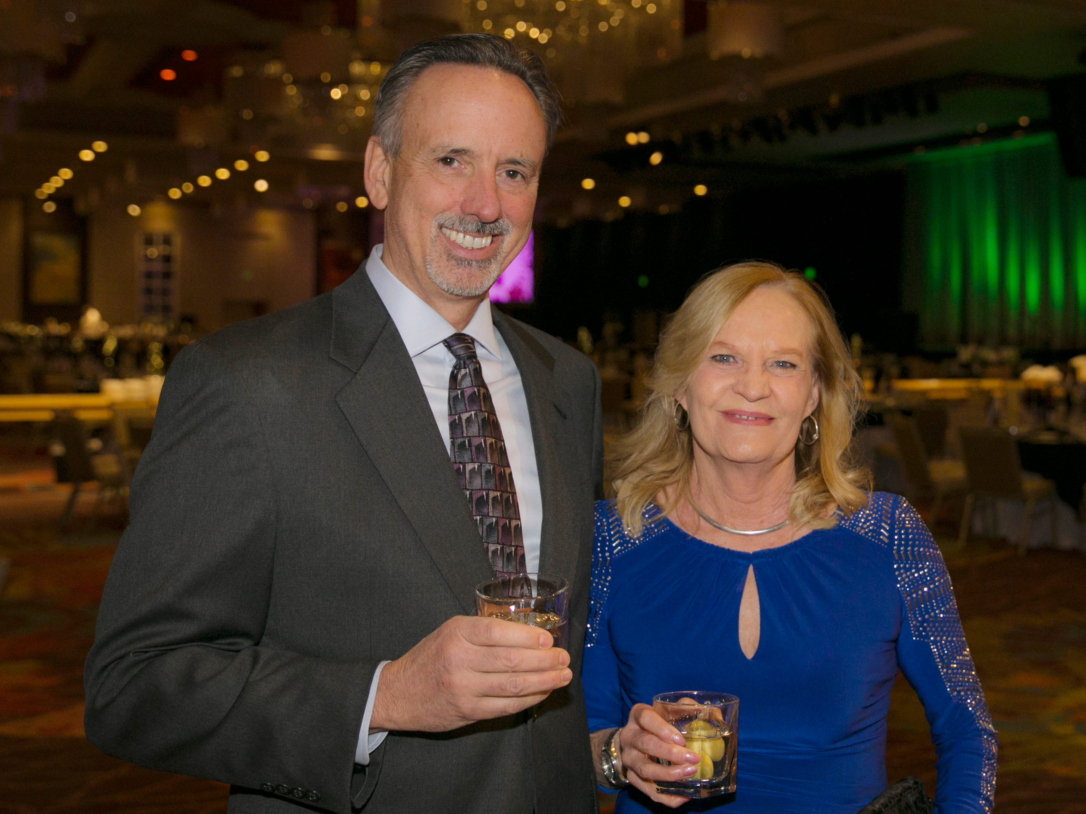 Brian Haus and Gale Kraft during Big Chefs Big Gala at the Grand Sierra Resort in Reno, Nevada on Saturday, April 13, 2019.
