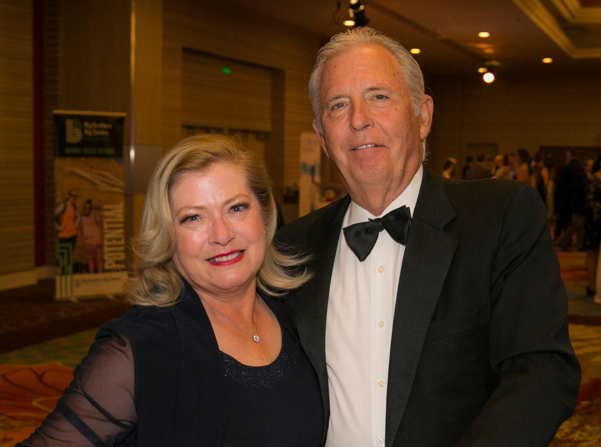 Liza and Bill Maupin during Big Chefs Big Gala at the Grand Sierra Resort in Reno, Nevada on Saturday, April 13, 2019.