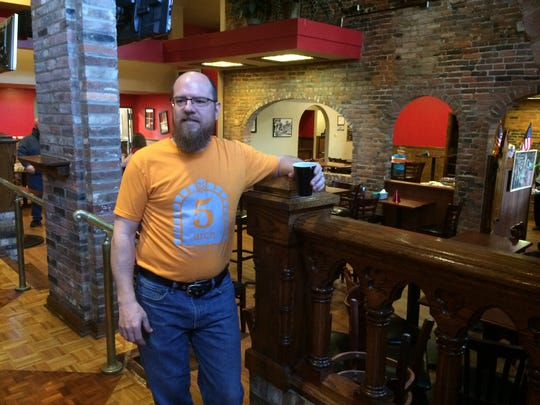 Scott Laster will brew the beer served at 5 Arch Brewing in Centerville.