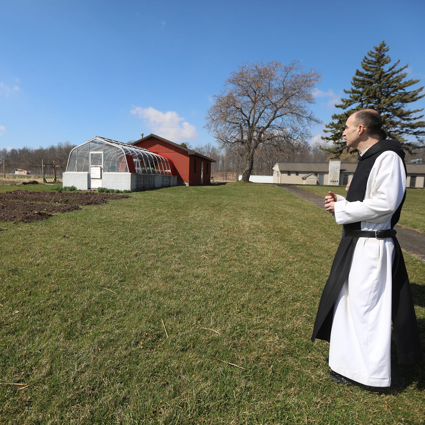 Abbey known for Monks' Bread welcomes visitors with new store, 'great peace and silence'