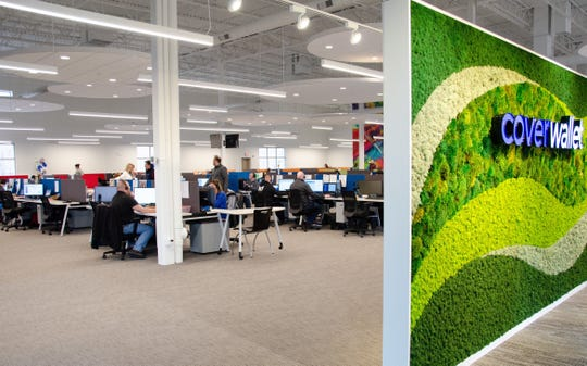 CoverWallet's new Victor office in Lehigh Crossing office park.