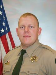 Cowlitz County Deputy Justin DeRosier