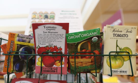Vegetable seeds.