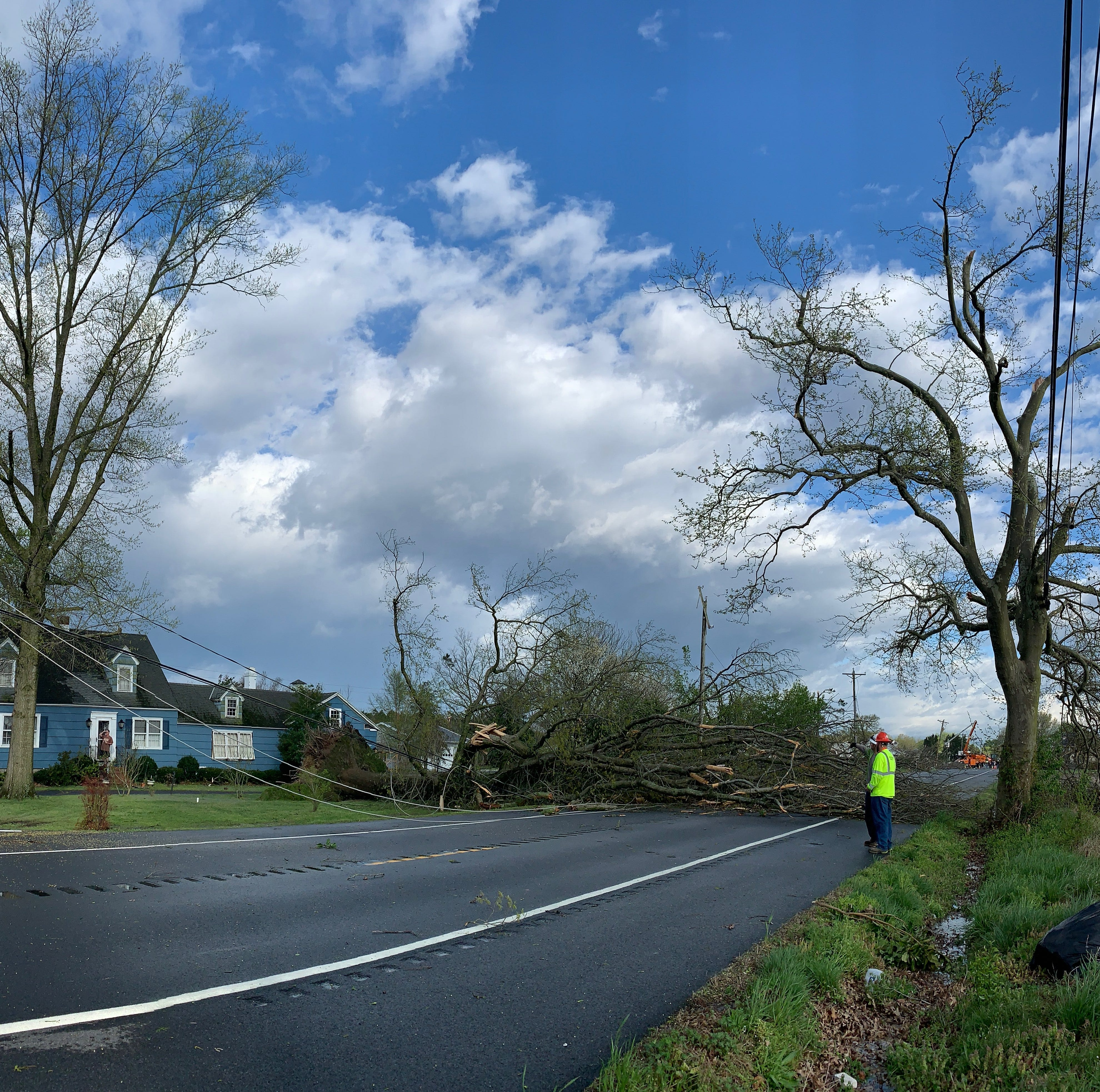 Sussex storm damage: Possible tornado leaves trail of destruction