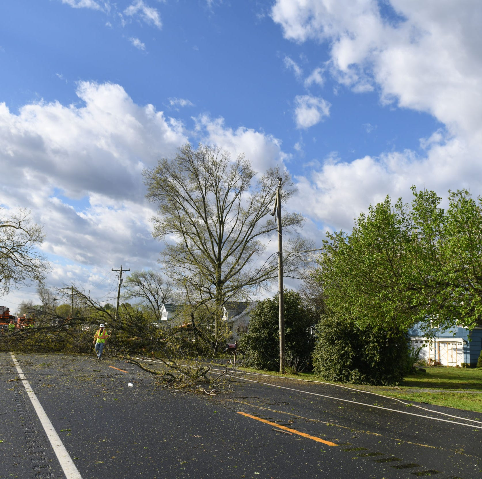 Third tornado confirmed on Delmarva: National Weather Service