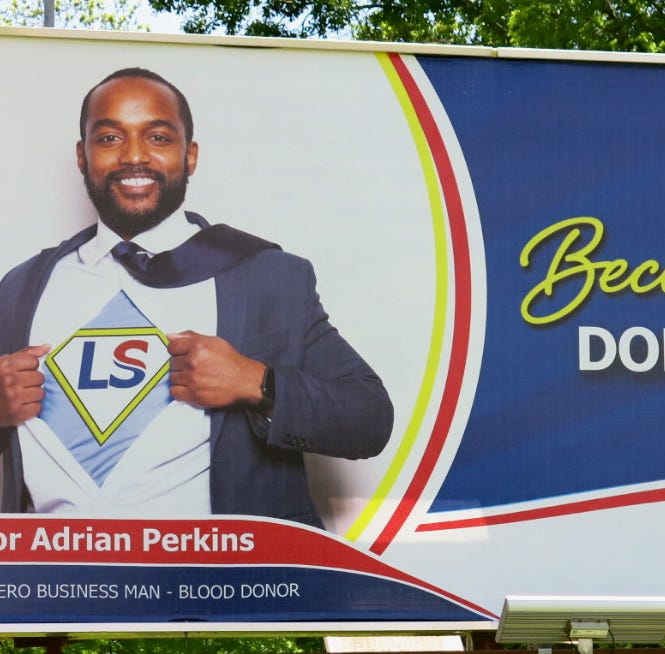 Shreveport Mayor Adrian Perkins is billboard rock star