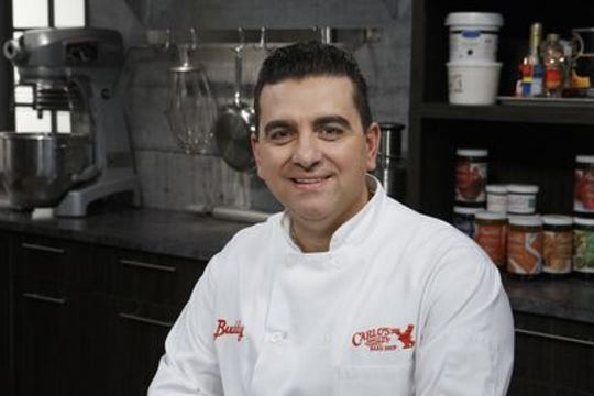 """Buddy Valastro, host of Food Network's """"Bake You Rich."""""""