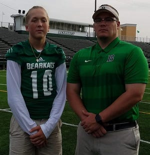 Double dose of Bearkat Beesons -- Coleman and David -- carrying on Bossier legacy.