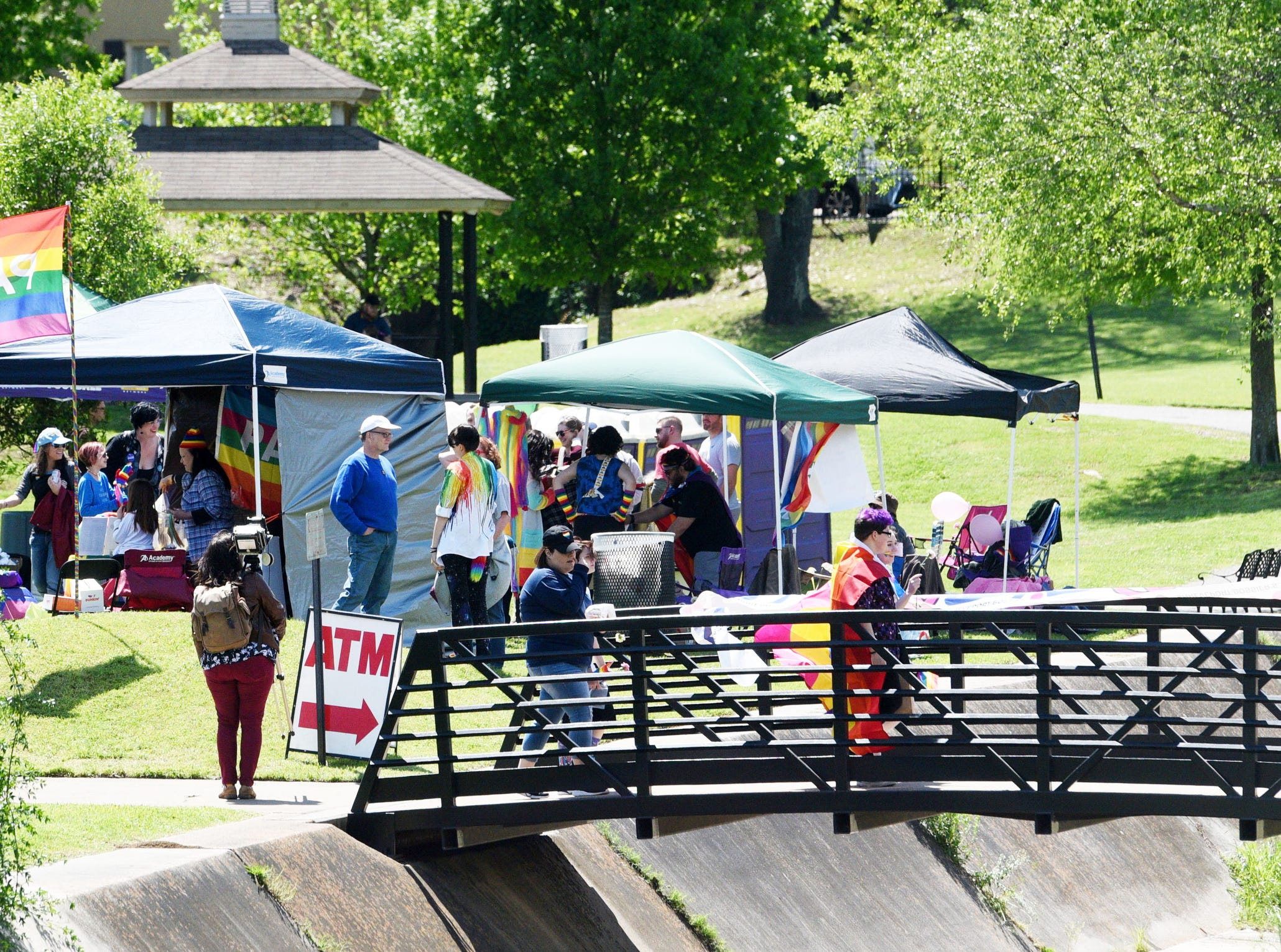 Pride in the Park Sunday afternoon, April 14, 2019 at Betty Virginia Park.