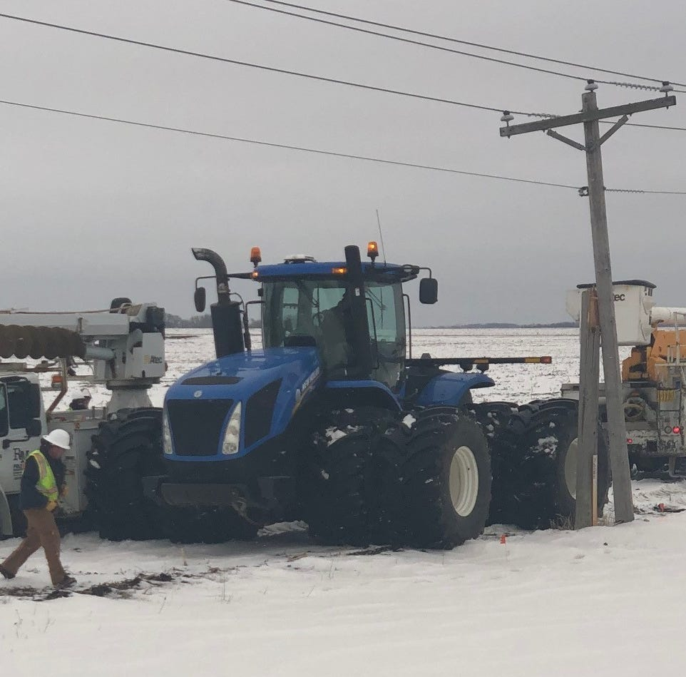 Days after storm, hundreds in southeastern South Dakota still without power