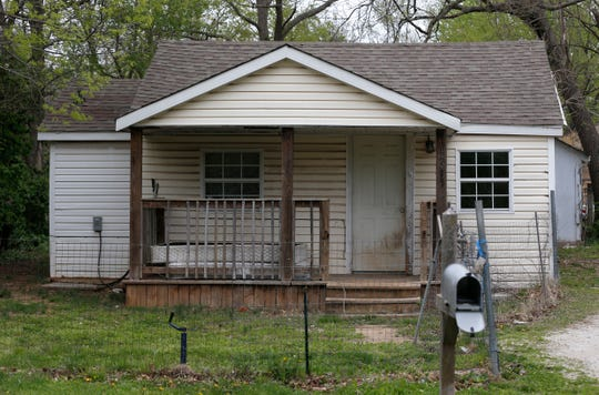 The home on West Page Street previously owned by 417 Rentals. Mendy Wilson and her family moved into the home several years ago and complained about black mold and shoddy electrical systems.