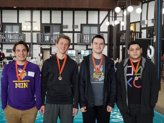Cathedral High School took fifth in the Class A division of the state knowledge bowl tournament April 10-11 in Brainerd.