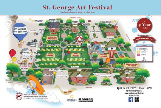 Art Festival Event Map