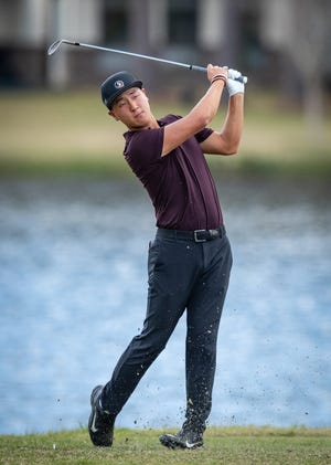 Florida State's John Pak won the individual ACC men's golf championship in 2019 with a score of 13-under 203.