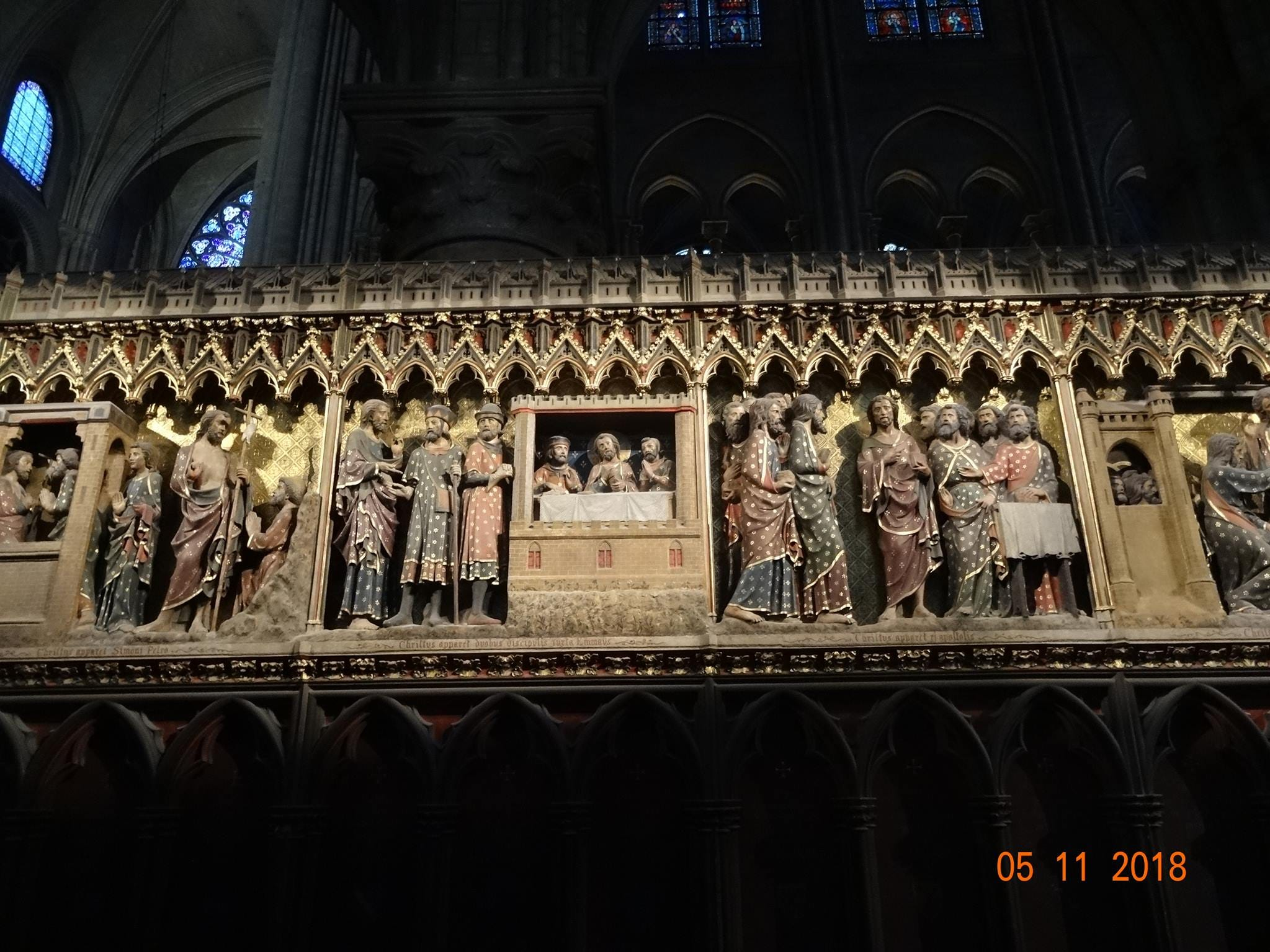 These are some we took inside Notre Dame just last year.