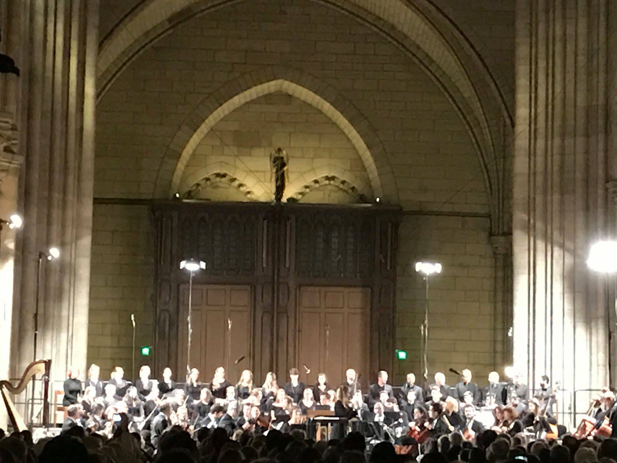 Vespers at Notre Dame Cathedral, one of the most moving experiences of my life.