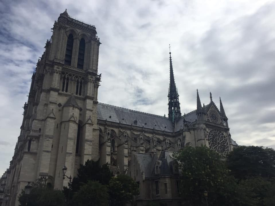 I have visited Notre Dame three times in my life (1982, 1997, 2017). The people who began to build Notre Dame, by hand in 1163, knew they would never worship in the cathedral. Yet, they continued building this treasure for future generations. It took several centuries to complete. It is so much more than a active church and historic landmark.   It is awe inspiring architecture. It is History Personified. It is Faith. It is Paris. It is Us.