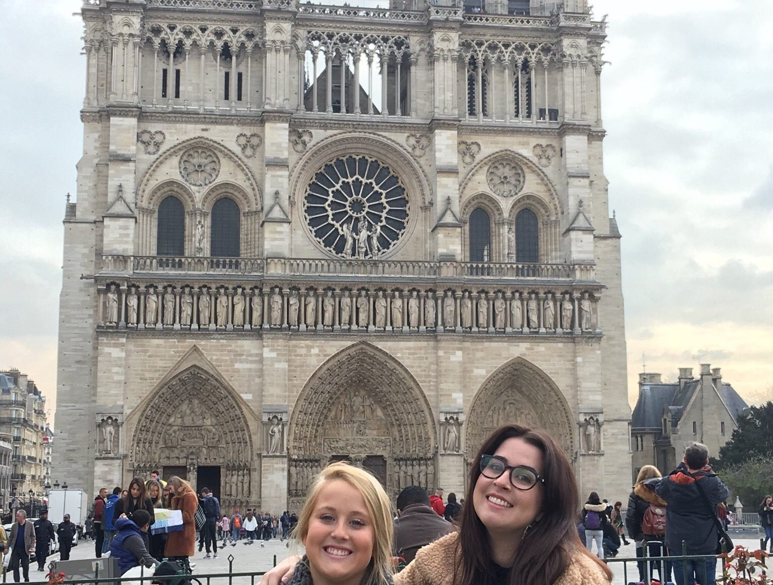 My daughters and I just visited Notre Dame on March 20. We are devastated!