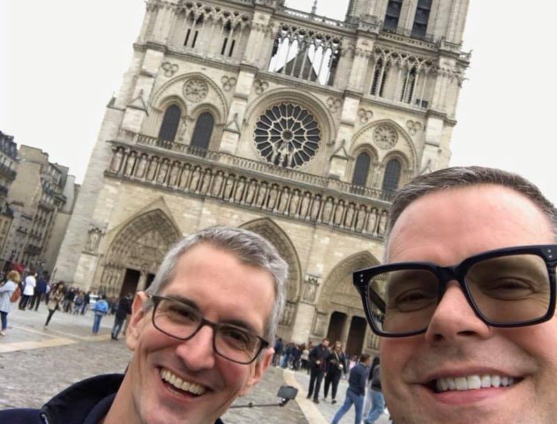 Tony Archer and Dan Tayor