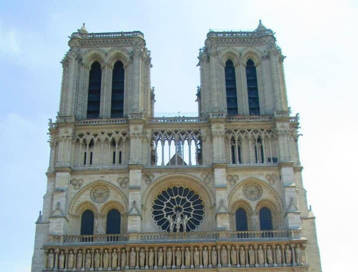 """Ellen Piekalkiewicz and daughter Natalie Dobek:  """"We visited Paris for my daughter's 18th birthday in June 2012. Our first stop was Notre Dame. We are so sad but confident that it will be rebuilt to be enjoyed for centuries to come."""""""