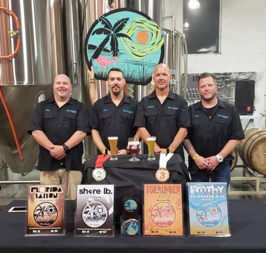 Chris Ellison, Devin Giles, Johnathan Billings and Casey Johnson created State of Sunshine Brewing.