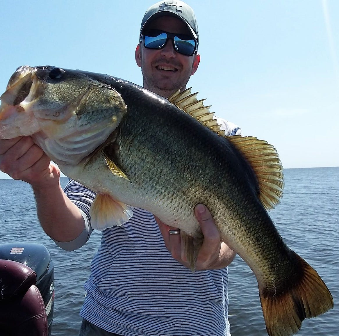 Fishing Lake Okeechobee: Bass are taking wild shiners; full moon Friday means spawning