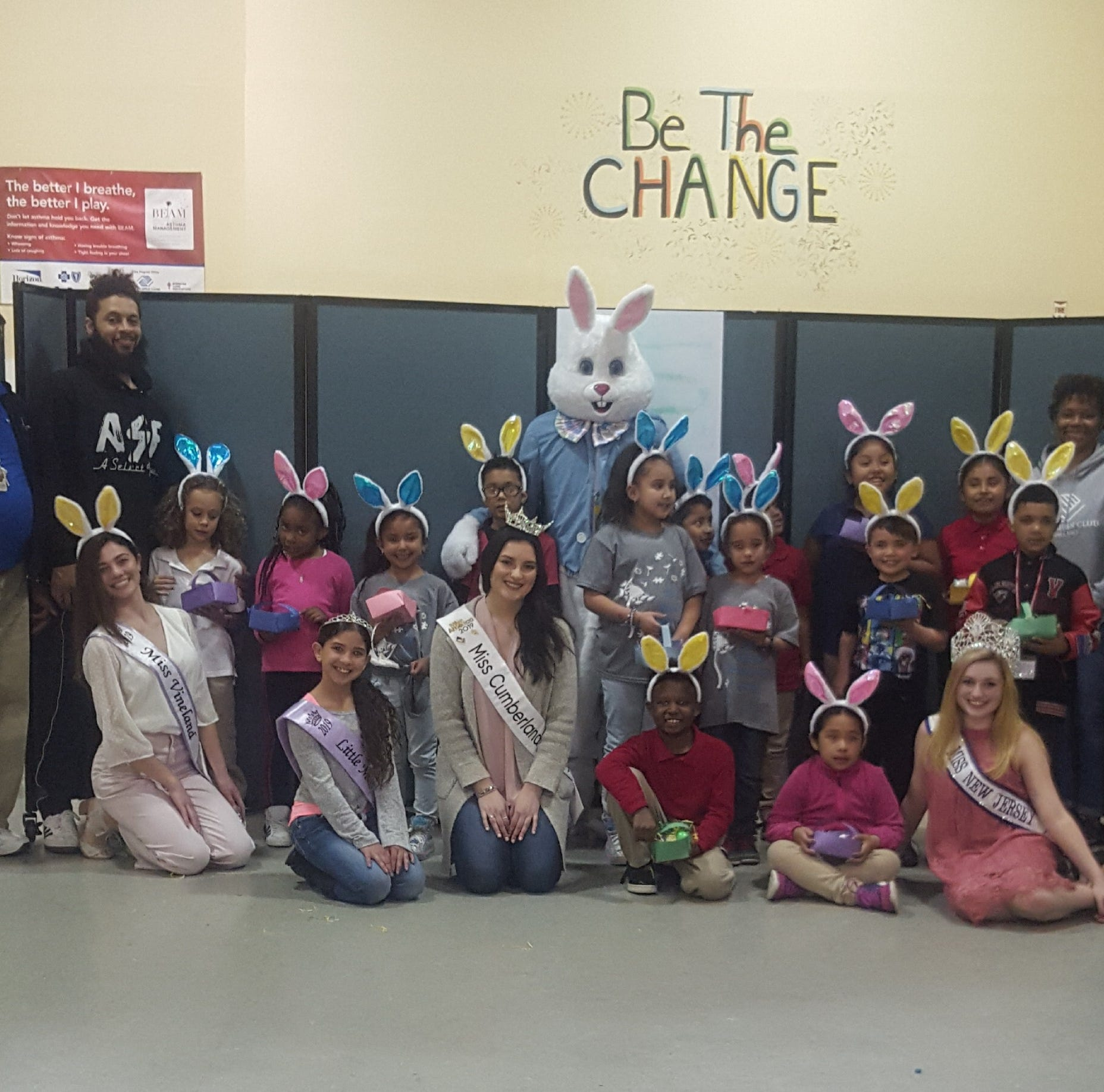 Club members get Easter 'help' from local celebrities
