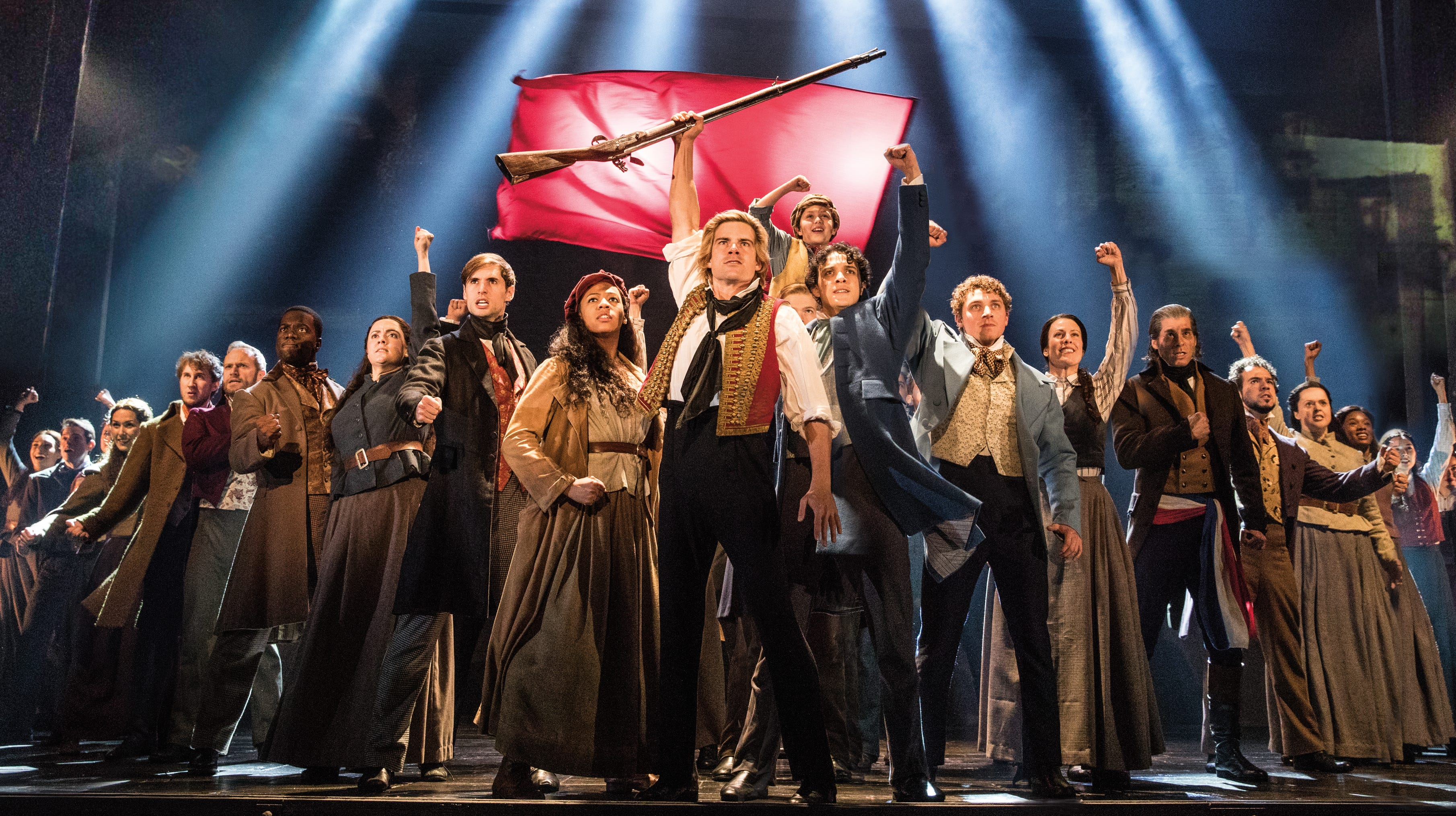 """Les Miserables,"" April 28-May 3, 2020 — Do you hear the people sing? You will when this Tony Award-winning musical returns to the Valley."