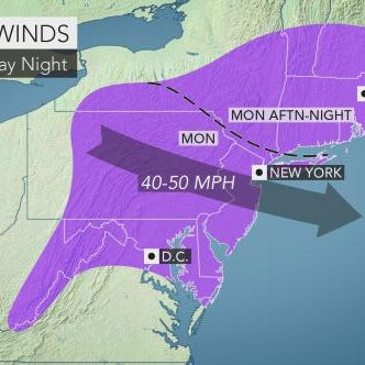 Weather: Strong winds to batter Lower Hudson Valley today