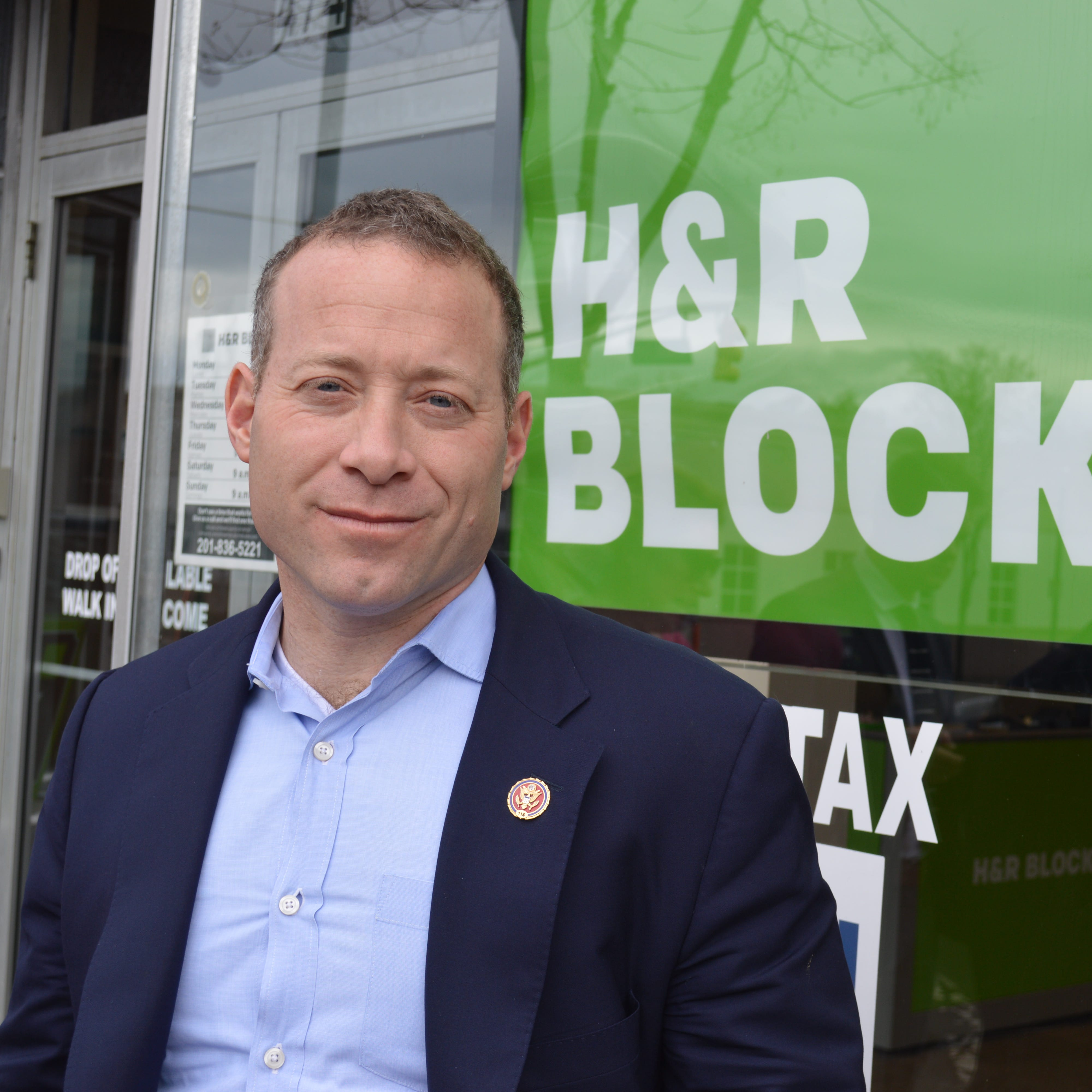 Gottheimer rails against Trump tax reform, but H&R Block says tax liability fell in NJ
