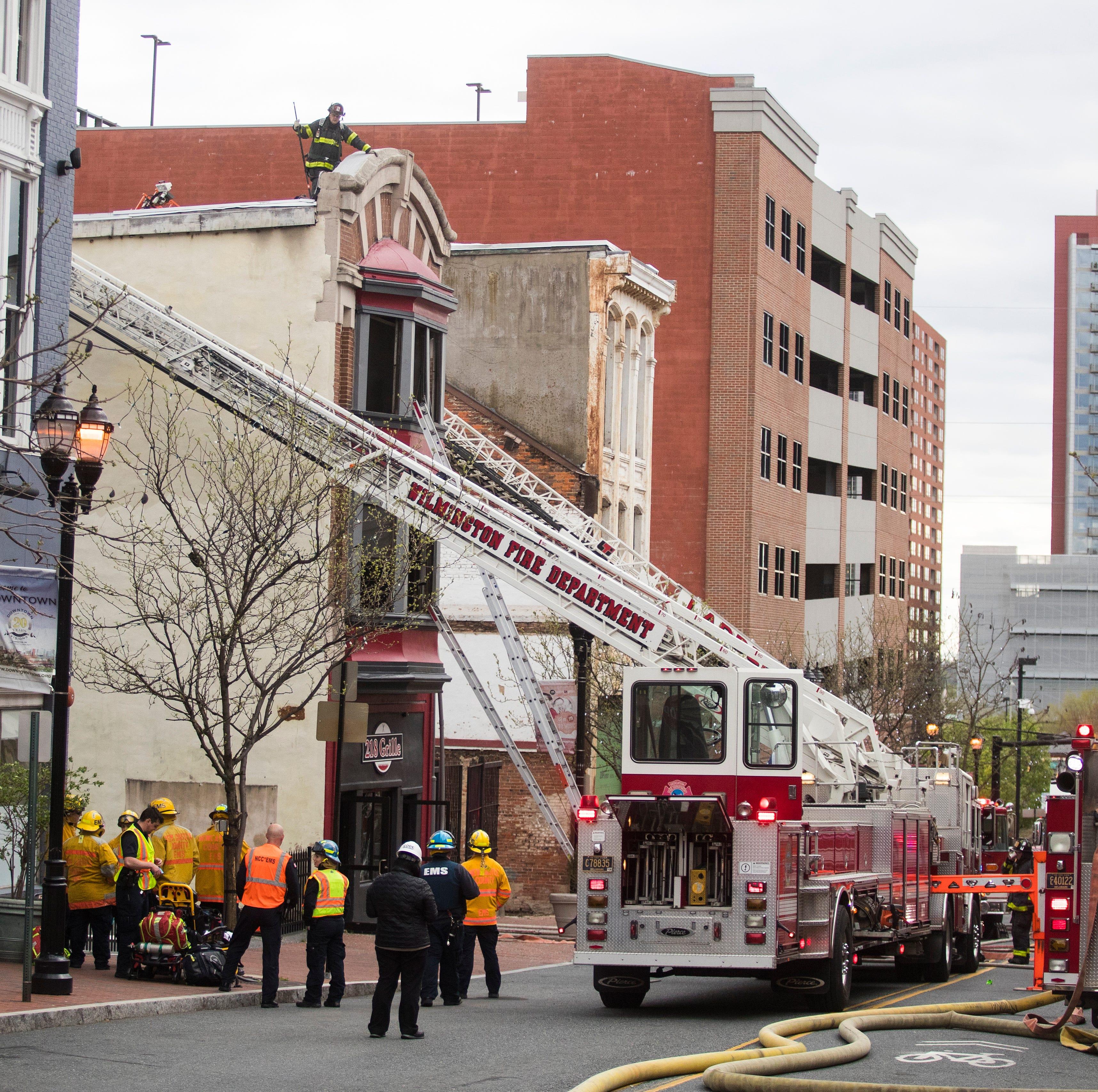 Restaurant fire shuts down Market Street